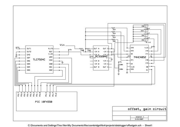 USB data logger project