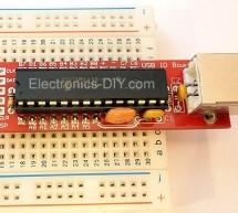 USB IO Board PIC18F2455 / PIC18F2550 using pic microcontoller