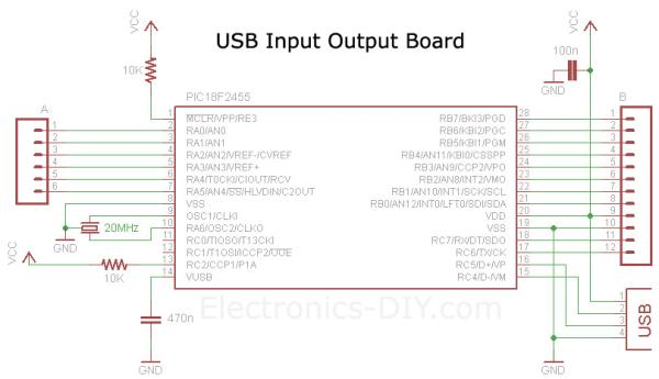 electronics-diy.com USB_IO_Board.php