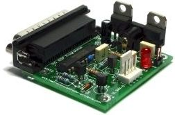 A pic programmer circuit based on AN589