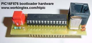 Bootloader for 16F87x PIC Microcontrollers