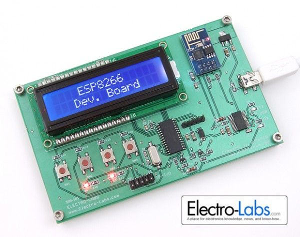 DIY ESP8266 Development Board
