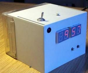 Digital Alarm Clock Schematic