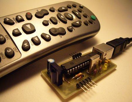 How-to USB remote control receiver