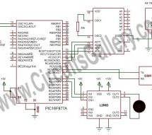 How to make a computer controlled Robot Project Using PIC16F877A? using pic microcontoller