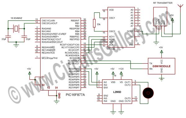 How to make a computer controlled Robot Project Using PIC16F877A
