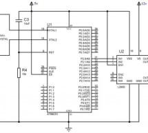 Interfacing 16×2 Lcd With 8051 Circuit Pin Diagrams