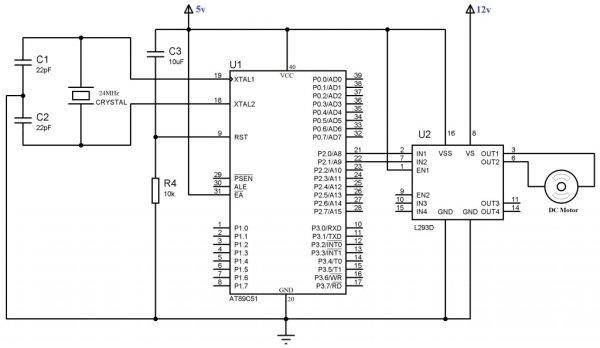 interfacing 16 u00d72 lcd with 8051 circuit pin diagrams