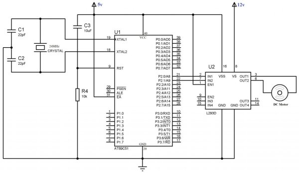 interfacing 16 u00d72 lcd with 8051 circuit pin diagrams