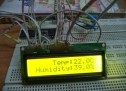 Interfacing DHT11 humidity and temperature sensor with PIC16F877A using pic microcontoller