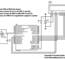 """Making """"The LCD Expansion Board"""" for PIC18F4520 using pic microcontoller"""