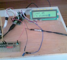 Music player built on microcontroller AT91SAM7S256 with ARM core