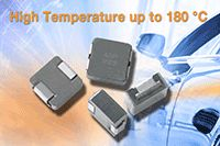 New Vishay Intertechnology Automotive-Grade Low-Profile, High-Current Inductor Offers Continuous High-Temperature Operation to +180°C