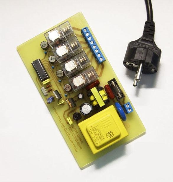 PIC Controlled Relay Driver
