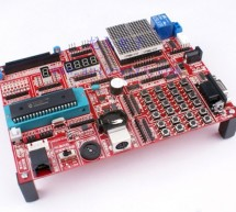 PIC microcontroller development board using pic microcontroller