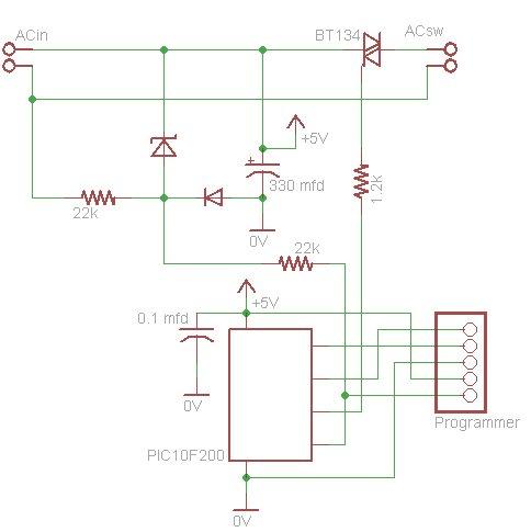 Programmable Lamp Dimmer