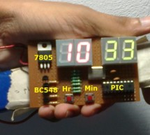 Real Time Clock Circuit using Mircocontroller