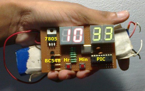 Real Time Clock Circuit using Mircocontroller