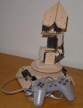 The Wooden Menace - a Mighty Robotic Arm Powered by Servos