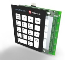 USB Keypad Demonstration – Crystal Free USB and mTouch™ Sensing Solutions using pic microcontoller