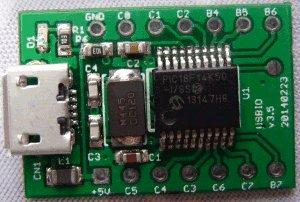 USB digital GPIO I O extender