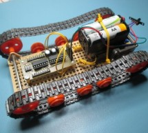 Simple and extensible microprocesor driver for robots