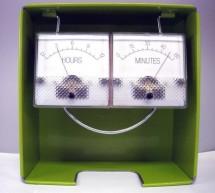 Trinket Powered Analog Meter Clock