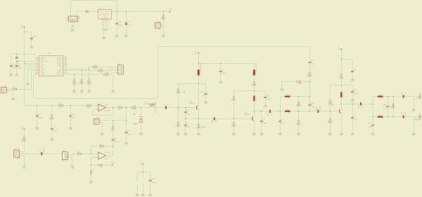 2meter (144MHz) amateur radio transceiver