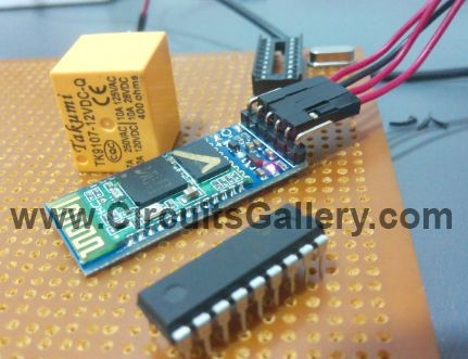 Android App Home Automation via Bluetooth Using PIC16F628A Microcontroller