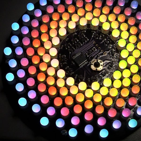 Aurora 9x18 RGB LED art