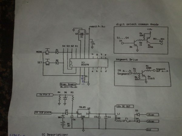 circuit diagram of 7 segment digital clock 7 segment clock circuit diagram