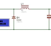 Buck converter using pic microcontroller and IR2110