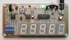 Digital Barometer using PIC Microcontroller and MPX4115A Pressure Sensor - XC8