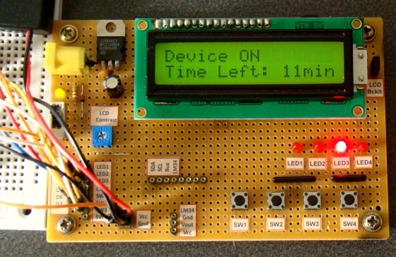 Digital Count Down Timer using PIC Microcontroller