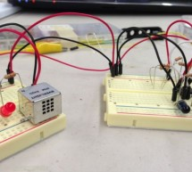 Garage car detector without a microcontroller
