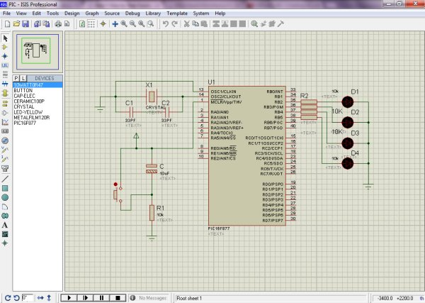 How to Program a PIC Microcontroller to Build a Project Schematic