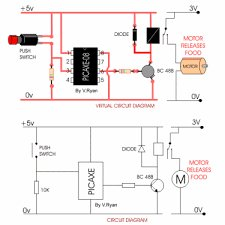 How to get started with PICAXE 08M microcontroller Schematic