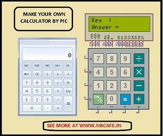 How to make(build) a Calculator using Pic16f877 microcontroller