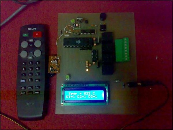 IR Digital Thermostat for FAN
