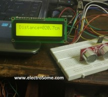 Interfacing Ultrasonic Distance Sensor : ASCII Output with PIC Microcontroller