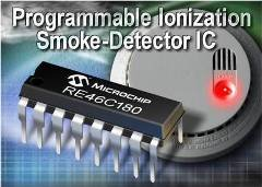 Ionization Smoke-Detector With Programmable Calibration