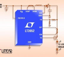 LT3952 – 60V LED Driver with 4A Switch Current
