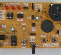 Learning Board for PIC12F683 Microchip
