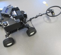 Metal detector robot using pic microcontroller