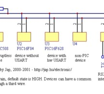 PBUS – an RS485-like multi-drop bus with half duplex serial protocol