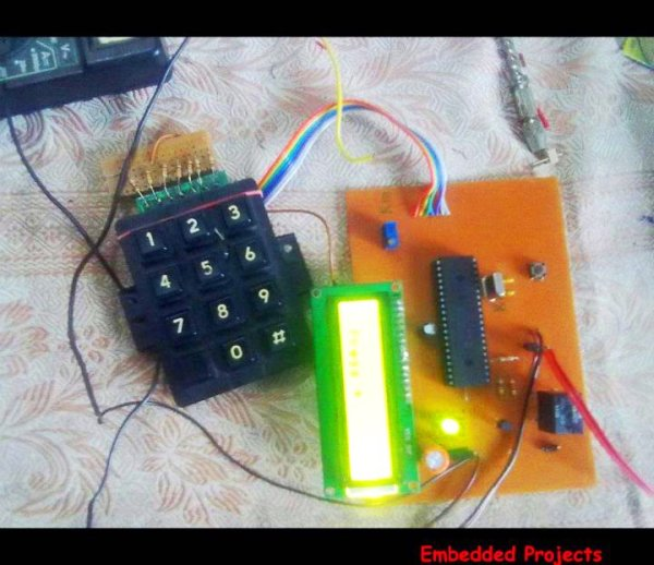 PIC Microcontroller Based Electronic Lock