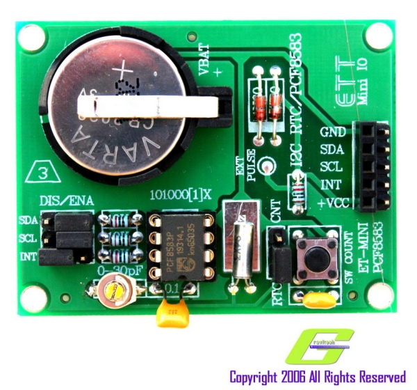 PIC16CXXX real time clock electronic project