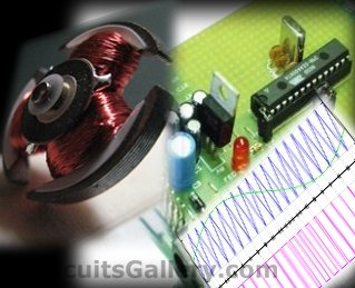 PWM DC Motor Speed Controller Circuit Using PIC16F877A Microcontroller