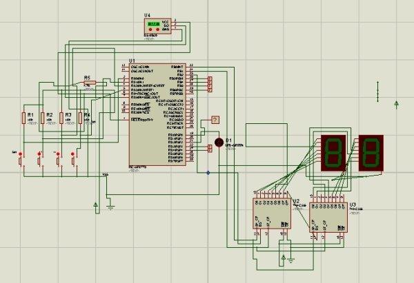 Refregirator Temperature Controller Project (Save Your Electricity Bill) Schematic