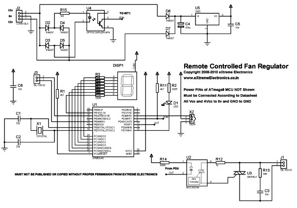 Search Results for Temperature Controlled Fan using 8051 Microcontroller ... Schematic